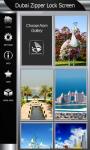 Dubai Zipper Lock Screen screenshot 4/6
