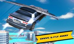Car Racing Real Flying game screenshot 4/4