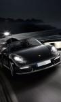 Porsche in Black Live Wallpaper screenshot 3/4