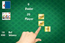 Simple Black Jack Gold screenshot 1/5