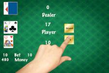 Simple Black Jack Gold screenshot 2/5