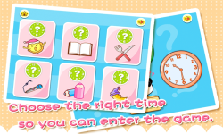 Babys Learning Clock by BabyBus screenshot 2/5
