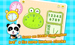 Babys Learning Clock by BabyBus screenshot 3/5