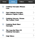 Celebrity Hairstyles screenshot 2/3