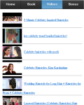 Celebrity Hairstyles screenshot 3/3