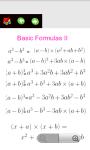 Algebra Useful Formulas screenshot 1/6