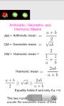 Algebra Useful Formulas screenshot 4/6