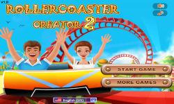 Rollercoaster Creator 2  Game screenshot 1/4