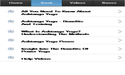 Ashtanga Yoga App screenshot 2/3