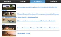 Ashtanga Yoga App screenshot 3/3