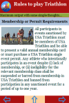 Rules to play Triathlon screenshot 3/3