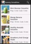 Yummy Smoothies screenshot 2/6