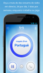 VOA Portuguese Mobile Streamer screenshot 2/4