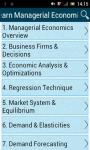 Learn Managerial Economics screenshot 1/3