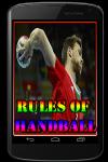 Rules of Handball screenshot 1/3