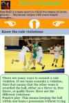 Rules of Handball screenshot 3/3