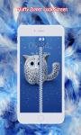 Fluffy Zipper Lock Screen screenshot 1/6