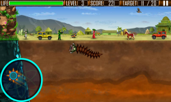 Worm's City Attack - Android screenshot 2/5