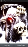 Crazy Killer Grim Reaper Live Wallpaperfree screenshot 3/3