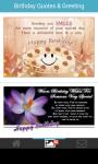 Birthday quotes card greeting wallpaper screenshot 1/6
