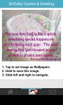Birthday quotes card greeting wallpaper screenshot 2/6