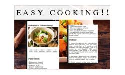 vegetarian recipes food screenshot 3/3