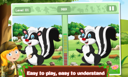 Animal Spot The Differences screenshot 1/5