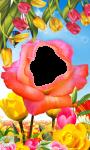 Flower photo frame pic screenshot 1/4