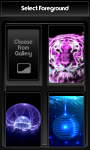 Neon Zipper Lock Screen screenshot 3/6