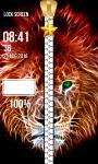 Neon Zipper Lock Screen screenshot 6/6
