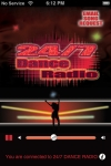 24/7 DANCE RADIO is today's best dance music. screenshot 1/1