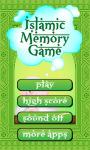 Islamic Memory Game screenshot 1/3