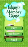 Islamic Memory Game screenshot 2/3