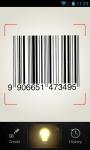 Secure QR and Barcode reader screenshot 1/6