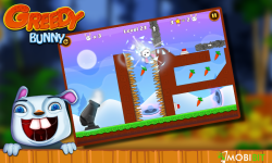 Greedy Bunny - Feed The Monster screenshot 2/3