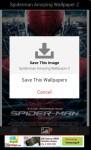 Spiderman Amazing Wallpaper Z screenshot 3/3