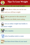 Tips to Lose Weight screenshot 2/3