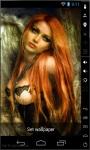 Redhead Princess Live Wallpaper screenshot 1/2