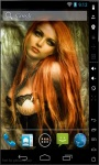 Redhead Princess Live Wallpaper screenshot 2/2
