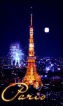 Paris Fireworks Live Wallpaper screenshot 2/3