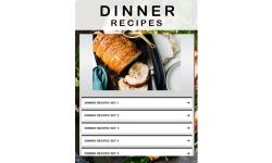 Dinner Recipes 2 screenshot 1/3