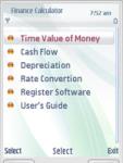 Mobile Finance Calculator screenshot 1/1