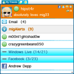 mig33 screenshot 1/3