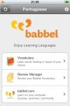 Portuguese Mobile  Vocabulary Trainer by babbel.com screenshot 1/1