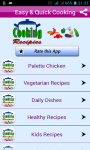 Cooking Recipes Quick And Easy screenshot 1/4