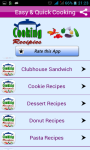Cooking Recipes Quick And Easy screenshot 2/4