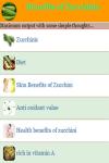 Benefits of Zucchinis screenshot 3/4
