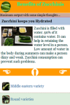 Benefits of Zucchinis screenshot 4/4