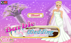 Barbie Weeding Dress Up screenshot 1/4