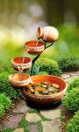 Garden Water Pot Live Wallpaper screenshot 1/3